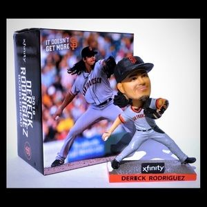 SF Giants Derek Rodriguez Bobblehead